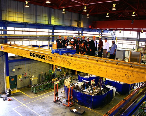Overhead Crane New Jersey : Moye handling systems inc somerville new jersey proview